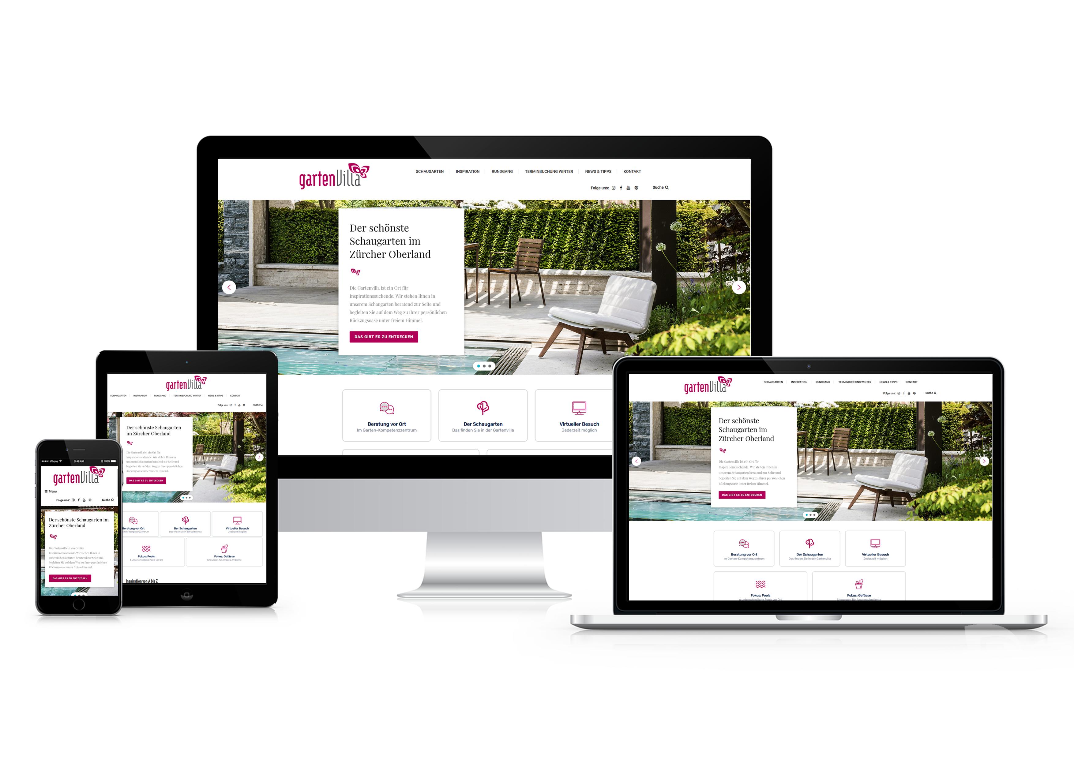 Neue Webseite: Ein virtueller Einblick in unseren Schaugarten