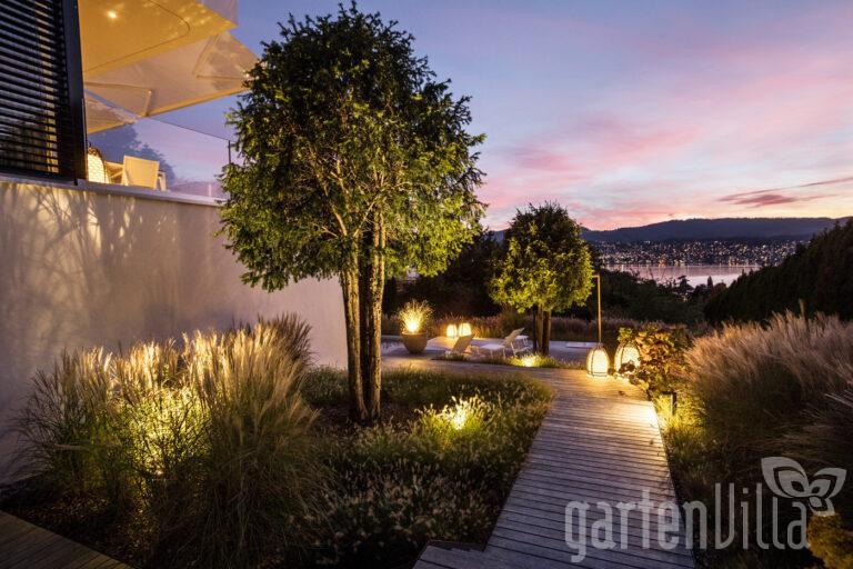 Gartenbeleuchtung, Beleuchtung, Terrassenbeleuchtung, Terrasse, Garten