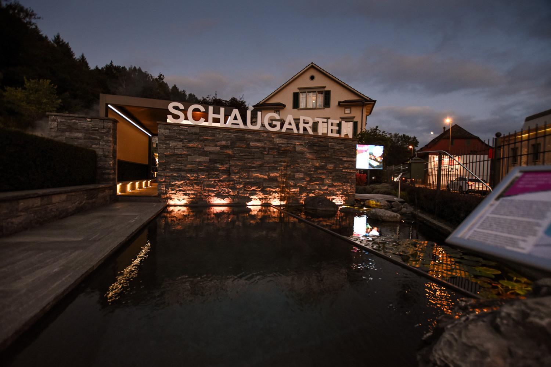 Rückblick Gartenvilla by Night | Garten- und Terrassenbeleuchtung